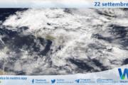 Sicilia: immagine satellitare Nasa di mercoledì 22 settembre 2021