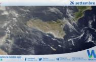 Sicilia: immagine satellitare Nasa di domenica 26 settembre 2021