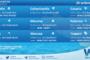 Sicilia: condizioni meteo-marine previste per sabato 25 settembre 2021