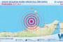 Sicilia: scossa di terremoto magnitudo 3.1 nei pressi di Costa Siciliana nord-orientale (Messina)