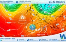 Sicilia: rialzo termico con punte fino a 28 gradi venerdì. Rischio ciclone nel weekend?