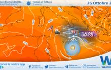 Sicilia: nessun uragano in arrivo! Martedì ancora maltempo diffuso, localmente intenso.