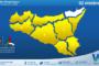 Sicilia: immagine satellitare Nasa di venerdì 01 ottobre 2021