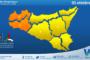Sicilia: immagine satellitare Nasa di lunedì 04 ottobre 2021
