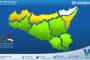 Sicilia: weekend autunnale con maltempo sparso e temperature sotto media stagionale.