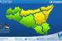 Sicilia: avviso rischio idrogeologico per lunedì 18 ottobre 2021