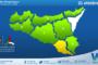 Sicilia: avviso rischio idrogeologico per giovedì 21 ottobre 2021