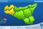 Sicilia: avviso rischio idrogeologico per sabato 23 ottobre 2021