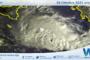 Ciclone mediterraneo: aggiornamento satellite ore 08:00 – 28 ottobre 2021