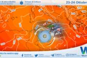 Sicilia: raggiunti 29 gradi a Palermo. Ciclone libico in avvicinamento domenica.