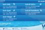 Sicilia, isole minori: condizioni meteo-marine previste per lunedì 25 ottobre 2021