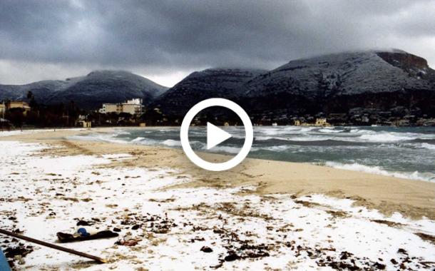 Sicilia: la storica nevicata a Palermo del 30-31 gennaio e 1 febbraio 1999. VIDEO