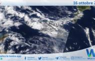 Sicilia: immagine satellitare Nasa di sabato 16 ottobre 2021