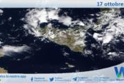 Sicilia: immagine satellitare Nasa di domenica 17 ottobre 2021