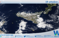 Sicilia: immagine satellitare Nasa di martedì 19 ottobre 2021