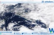 Sicilia: immagine satellitare Nasa di lunedì 25 ottobre 2021