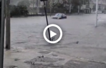 Sicilia: nubifragio a Siracusa (VIDEO).