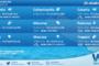 Sicilia: condizioni meteo-marine previste per lunedì 25 ottobre 2021