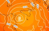 Sicilia, inizio di settimana perturbato con possibili fenomeni intensi.