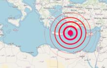 Grecia: scossa di terremoto magnitudo 5.8. Sisma avvertito anche in Sicilia orientale.