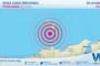 Sicilia: scossa di terremoto magnitudo 2.5 nei pressi di Isole Eolie (Messina)