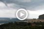 Sicilia: tromba marina si forma davanti il golfo di Cefalù. VIDEO